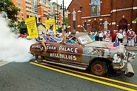 Thousands of Shriners celebrated the July 4th holiday in Charlotte by putting on one of the longest parades in the city's history. The parade was held as part of the Shriner's 2012 Imperial session, held July 1-5, 2012 in Charlotte.