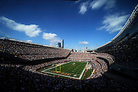 The Chicago Bears host the Washington Redskins in the Bears 17-14 loss to the Redskins at Solider Field in Chicago on Sunday, October 24, 2010.   |  Jonathan Miano~Staff photographer ..