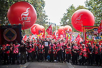 Britain Needs a Payrise demonstration 18-10-14