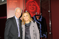 Melissa Etheridge poses for a photo with Cary H. Sherman Chairman &amp; CEO of the Recording Industry Association of America (RIAA) , in front Etheridges' jacket she wore to the 2005 Grammy Award show. The jacket is part of the &quot;Women Who Rock&quot; exhibition sponsored by the Rock and Roll Hall of Fame and the RIAA (Recording Industry Association of America) at NMWA in Wasington DC. Sunday Nov. 4th. Grammy award winner Melissa Etheridge is presented with The Excellence in the Performing Arts award from the National Museum of Women in the Arts (NMWA) in Washington DC. Sunday Nov. 4, 2012. Etheridge  also performed on the piano and then an acoustic set on guitar for an intimate audience of about 400 people. Photo &copy;Suzi Altman/For NMWA Grammy award winner Melissa Etheridge is presented with the National Museum of Women in the Arts&rsquo; (NMWA) Award for Excellence in the Performing Arts in Washington DC. Sunday Nov. 4, 2012. Etheridge also performed on the piano and then an acoustic set on guitar for an intimate audience of about 300 people. Photo &copy;Suzi Altman/For NMWA<br />