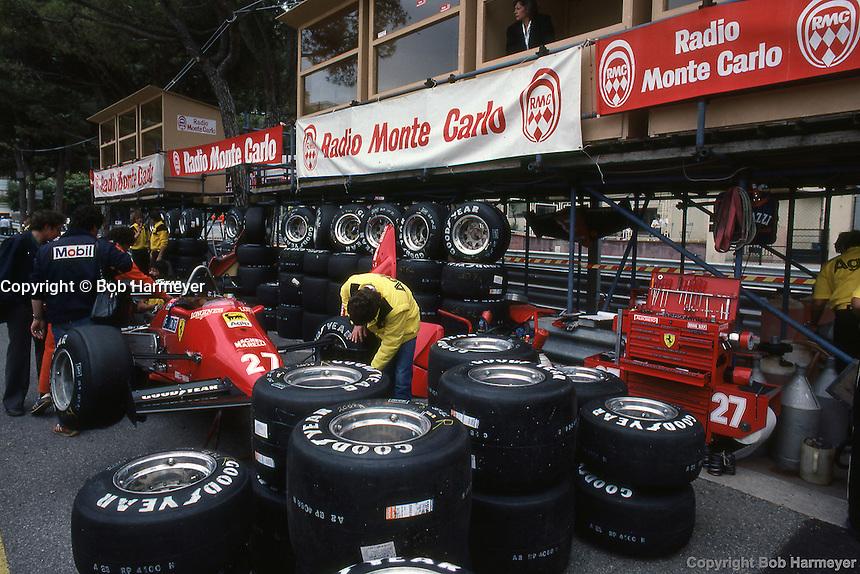 1984 Monaco Grand Prix For The Monaco Grand Prix