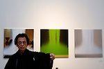 World renowned architect Kisho Kurokawa at the National Art Center in Tokyo, Japan. Kurokawa, who designed the new art center, passed away in October 2007, but not before he had run for a seat in Japan's Parliament, albeit unsuccessfully.