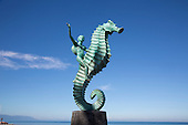 ?Caballero del Mar? The Seahorse by Rafael Zamarripa, 1976, The Malecon, Puerto Vallarta, Jalisco, Mexico