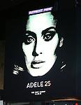 Adele 25 - Times Square Billboard