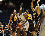 "Ole Miss' Courtney Marbra (25) vs. Central Michigan at C.M. ""Tad"" Smith Coliseum in Oxford, Miss. on Wednesday, December 14, 2011."