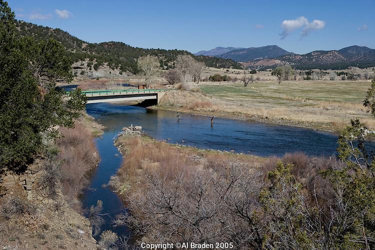 Arkansas river near howard colorado al braden for Buy colorado fishing license