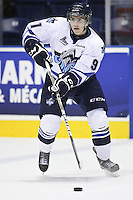 QMJHL (LHJMQ) hockey profile photo on Rimouski Oceanic Charles-Eric Legare October 6, 2012 at the Colisee Pepsi in Quebec city.