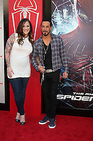 "LOS ANGELES - JUN 28:  A. J. McLean arrives at the ""The Amazing Spider-Man"" Premiere at Village Theater on June 28, 2012 in Westwood, CA"