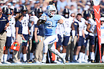 24 September 2016: UNC's Ryan Switzer. The University of North Carolina Tar Heels hosted the University of Pittsburgh Panthers at Kenan Memorial Stadium in Chapel Hill, North Carolina in a 2016 NCAA Division I College Football game.