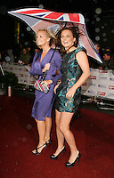 Emma Bunton ang Geri Halliwell at the Daily Mirror Pride of Britain Awards at LWT Studios, Southbank..