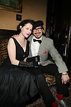 Leslie Presley and Artist Damian Monzillo Attend Flatt Book 6 Launch Party & Salute to Flattprize & National Arts Club Residency Recipient Fabrizio Arrieta Held at The National Arts Club, NY