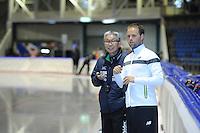 SCHAATSEN: HEERENVEEN: 19-06-2014, IJsstadion Thialf, Zomerijs training, Johan de Wit Team New Balance, ©foto Martin de Jong
