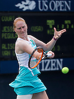 ALISON VAN UYTVANCK (BEL)<br /> <br /> The US Open Tennis Championships 2015 - USTA Billie Jean King National Tennis Centre -  Flushing - New York - USA -   ATP - ITF -WTA  2015  - Grand Slam - USA  <br /> <br /> &copy; AMN IMAGES