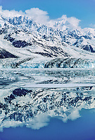 Face of  Harvard glacier in College Fjord, Chugach mountains, Prince William Sound, Alaska