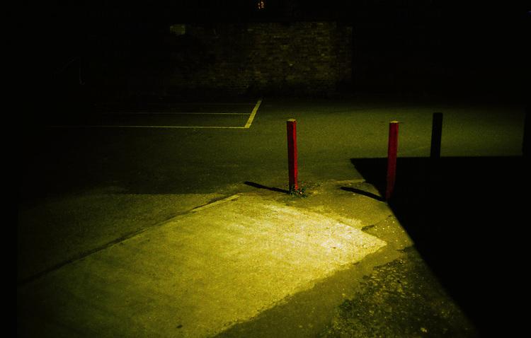 Corner of a carpark