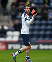 Preston North End's Tom Barkuizen appauds the fans as he leaves the pitch<br /> <br /> Photographer Mick Walker/CameraSport<br /> <br /> The EFL Sky Bet Championship - Preston North End v Reading - Saturday 11th March 2017 - Deepdale - Preston<br /> <br /> World Copyright &copy; 2017 CameraSport. All rights reserved. 43 Linden Ave. Countesthorpe. Leicester. England. LE8 5PG - Tel: +44 (0) 116 277 4147 - admin@camerasport.com - www.camerasport.com
