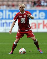Fussball 2. Bundesliga:  Saison   2012/2013,    3. Spieltag  1. FC Kaiserslautern - TSV 1860 Muenchen   26.08.2012 Leon Jessen (1. FC Kaiserslautern)