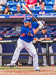 8 March 2015: New York Mets catcher Johnny Monell in Spring Training action against the Boston Red Sox at Tradition Field in Port St. Lucie, Florida. The Mets fell to the Red Sox 6-3 in Grapefruit League play. Mandatory Credit: Ed Wolfstein Photo *** RAW (NEF) Image File Available ***