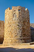 Gate of St Paul, Rhodes, Greece. UNESCO World Heritage Site