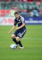 22 May 2010: New England Revolution midfielder Marko Perovic #29 in action during a game between the New England Revolution and Toronto FC at BMO Field in Toronto..Toronto FC won 1-0.....