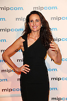 Andie McDowell attends the 2013 Mipcom opening party in Cannes - France