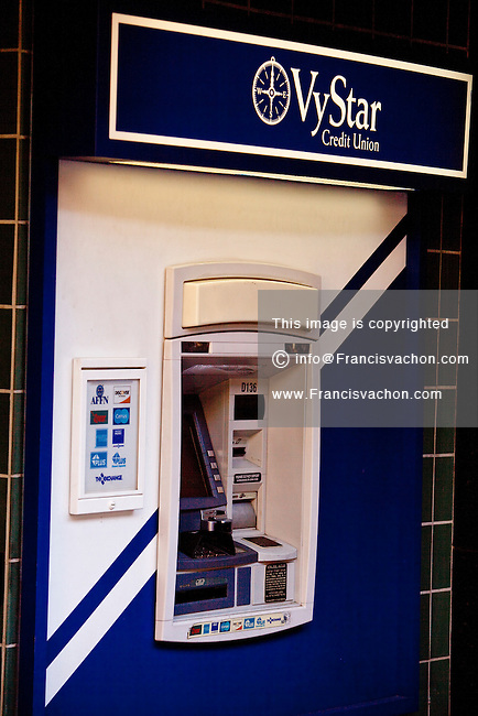VyStar Credit Union ATM is seen in Jacksonville, Florida Friday ...