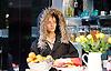 Linda <br /> by Penelope Skinner <br /> directed by Michael Longhurst <br /> at The Royal Court Theatre, London, Great Britain <br /> 30th November 2015 <br /> <br /> <br /> <br /> Karla Crome as Alice <br /> <br /> <br /> <br /> <br /> Photograph by Elliott Franks <br /> Image licensed to Elliott Franks Photography Services