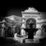 Monte Carlo fountain, Las Vegas, NV.