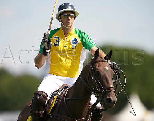 24.7.2011 Jose Eduardo Kalil 6 of The Equus sponsored 29 goal Brazil team during the100th Coronation Cup on Cartier International Day 2011at Guards Polo Club, Smith's Lawn, Windsor Great Park, Egham, Surrey, England on 24 July 2011.