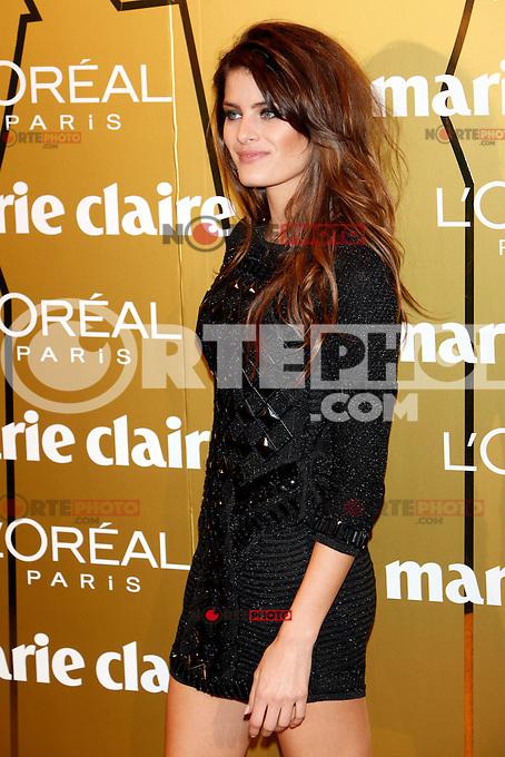 Isabeli Fontana attend Marie Claire Prix de la Moda awards 2012 at French Embassy in Madrid. November 22, 2012. (ALTERPHOTOS/Caro Marin) /NortePhoto