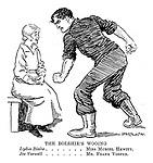 The Bolshie's Wooing, Lydia Blake...Miss Muriel Hewitt. Joe Warwell...Mr Frank Vosper