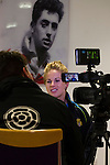 Doncaster Rovers Belles 1 Chelsea Ladies 4, 20/03/2016. Keepmoat Stadium, Womens FA Cup. Natasha Dowie of Doncaster Rovers Belles discussing the teams return to the top flight of Womens football, during a Doncaster Rovers Belles media day at The Keepmoat Stadium. Photo by Paul Thompson.