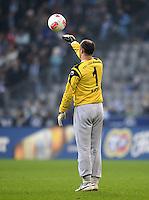 Fussball 2. Bundesliga:  Saison   2012/2013,    14. Spieltag  TSV 1860 Muenchen - 1. FC Koeln  16.11.2012 Torwart Gabor Kiraly (1860 Muenchen)