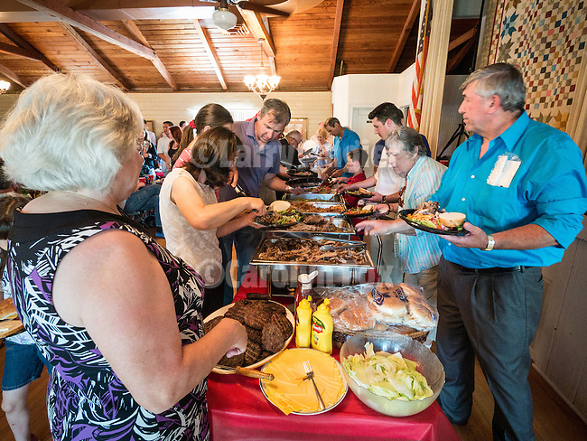 Annual St. Sava goat barbecue and buffet lunch, St. Sava Serbian Orthodox Church, Jackson