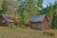Wooden Shacks - Golden, Oregon - HDR