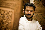 Chef Raji Philip at Udupi Café in Cary, NC, which specializes in South Indian vegetarian cuisine...