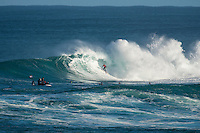Margaret River, Western Australia (Thursday, April 16, 2015) Adriano de Souza (BRA). &ndash; Day two of the 2015 Drug Aware Margaret River Pro was called on today with surf in solid 10'  surf at the main break at Margaret River and solid 6'-8' at the alternate spot of The Box. <br /> Round Two heats 1 to 9 were held at The Box before the contest was put on hold for a short time and then shifted to the main Break where they finished the round.<br /> Photo: joliphotos.com
