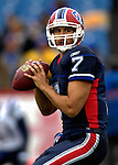 22 October 2006: Buffalo Bills quarterback J.P. Losman warms up prior to a game against the New England Patriots at Ralph Wilson Stadium in Orchard Park, NY. The Patriots defeated the Bills 28-6. Mandatory Photo Credit: Ed Wolfstein Photo.<br />