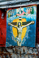 Poster of crucifixion.