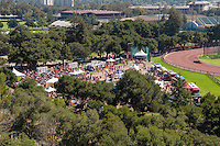 Stanford, CA - September 17, 2016: Fan Fest during the Stanford vs USC football game at Stanford Stadium. The Cardinal defeated the Trojans 27-10.