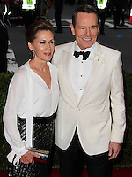 """NEW YORK CITY, NY, USA - MAY 05: Robin Dearden, Bryan Cranston at the """"Charles James: Beyond Fashion"""" Costume Institute Gala held at the Metropolitan Museum of Art on May 5, 2014 in New York City, New York, United States. (Photo by Xavier Collin/Celebrity Monitor)"""