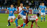 Millonarios venció como local 3-0 a Independiente Santa Fe. Fecha 10 Liga Águila I-2017.