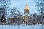 2.2.15 Snow Scenic 1.JPG by Matt Cashore/University of Notre Dame