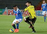 Bogotá- Millonarios F.C venció 1 gol por 0 a Alianza Petrolera, en el partido correspondiente a la fecha 16 del Torneo Clausura 2014, desarrollado el 25 de octubre en el estadio Nemesio Camacho 'El Campín'.