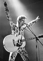 David Bowie performing in 1973. Credit: Ian Dickson/MediaPunch