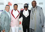 Homorees Stuart C. Snyder, Johnny Nunez, Recording Artist Ne-Yo and Honoree Louis Gossett Jr. Attend 2nd Annual Compound Foundation Benefit Honoring Academy Award-Winning Actor Louis Gossett, JR, Celebrity Photographer Johnny Nunez, Cartoon Network President & COO Stuart C. Snyder hosted by Ne-Yo and Kevin Hart Held at Private Location in East Hamptons, NY