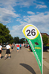 the 26 mile marker on the missoula, montana marathon
