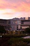 Brigham Young Statue, ASB, sunset.June 4, 2004.Photography by Mark A. Philbrick