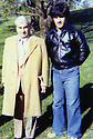 IUSA 1978 .Left, general Mustafa Barzani with Ahmed Assad Agha  .USA 1978 .A gauche, le general Mustafa Barzani avec Ahmed Assad Agha