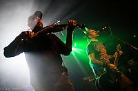 Folk punk band 'Ferocious Dog' play the Highbury Garage in London. 8-4-17
